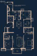 万科高新华府4室2厅2卫160平方米户型图