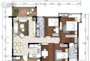 松湖豪庭4室2厅2卫0平方米户型图