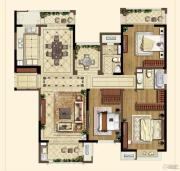 中海凤凰熙岸・玺荟3室2厅2卫156平方米户型图
