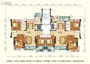 水润东都3室2厅2卫113--118平方米户型图