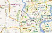 渝富滨江首岸交通图