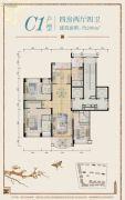 汕尾星河湾4室2厅4卫0平方米户型图