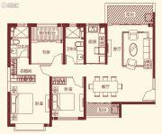 恒大帝景3室2厅2卫131平方米户型图