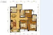隆鑫十里画卷3室2厅2卫108平方米户型图