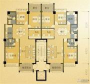 凤凰城3室2厅2卫119平方米户型图