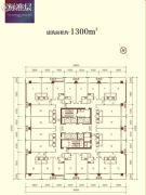 泰合国际财富中心1300平方米户型图