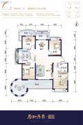 君和君泰・和园4室2厅3卫154--155平方米户型图