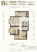 大秦・御港城0室0厅0卫0平方米户型图