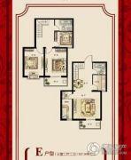 盛世郡3室2厅2卫127平方米户型图