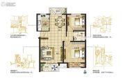 东润城2室2厅1卫88平方米户型图