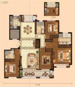 金麟府4室2厅3卫179平方米户型图