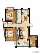 齐鲁涧桥2室2厅1卫126平方米户型图