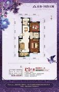 众和・国韵天城2室2厅1卫0平方米户型图