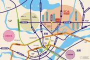 汉北广场交通图