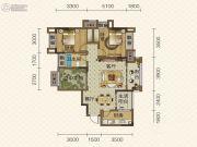 隆鑫爱琴海2室2厅1卫0平方米户型图