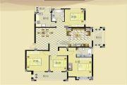宏博锦园 高层4室2厅3卫163平方米户型图