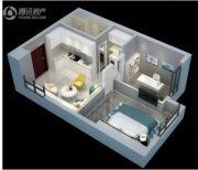 中电颐和府邸2室1厅1卫60平方米户型图