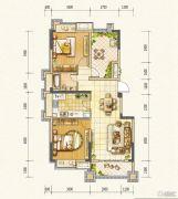 万达西双版纳国际度假区2室2厅1卫94平方米户型图