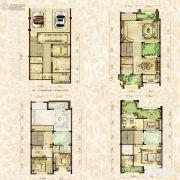 金辉城江城著4室2厅3卫287平方米户型图