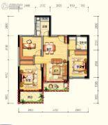 皇家海湾公馆3室2厅1卫90--100平方米户型图