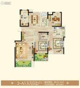 御翠园3室2厅2卫141平方米户型图