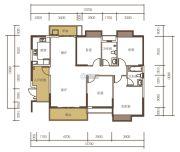 山水一品0室0厅0卫144平方米户型图