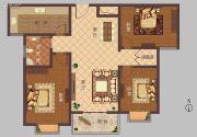 豫大・香港城3室2厅2卫121平方米户型图
