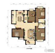御府山海观4室2厅3卫0平方米户型图