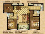 大发・凯旋门3室2厅2卫0平方米户型图