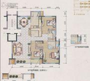 兴庆府大院3室2厅2卫167平方米户型图