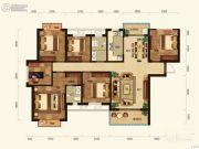 联诚雅郡6室2厅2卫142平方米户型图