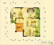 滨湖俊园2室2厅2卫0平方米户型图