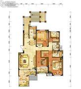 龙源山居4室2厅2卫0平方米户型图