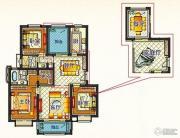 嘉和丽苑 小高层3室2厅2卫123平方米户型图
