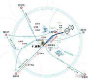 孔雀城半岛跃府交通图