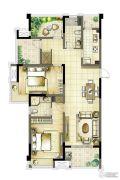 启迪方洲2室2厅2卫121--129平方米户型图