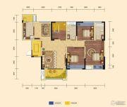 锦汇城4室2厅2卫128平方米户型图