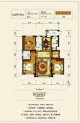 银河太阳城四期3室2厅2卫117平方米户型图