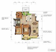 城投地产・智禧湾3室2厅2卫147平方米户型图