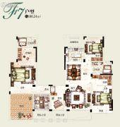塞拉维5室2厅2卫190平方米户型图