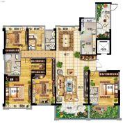 碧桂园南阳首府5室2厅3卫260平方米户型图
