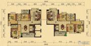 香樟美地3室2厅2卫106--117平方米户型图