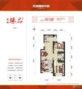 钜城国际中心2室2厅1卫0平方米户型图