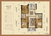 凯旋公馆1室1厅1卫0平方米户型图
