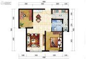 海昌天澜2室2厅1卫0平方米户型图