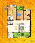 兴达・江山领秀3室2厅2卫134平方米户型图