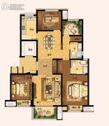 阳光城愉景湾4室2厅2卫125平方米户型图