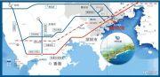 海悦长滩交通图