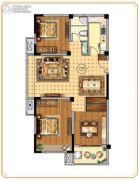 世纪凤凰城3室2厅1卫105平方米户型图