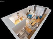 智富城1室2厅1卫56--83平方米户型图